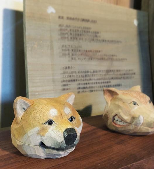 2階ギャラリーの看板犬_f0077789_14495848.jpg