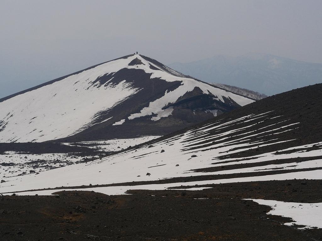 樽前山、2019.4.24_f0138096_16350283.jpg