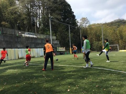 ゆるUNO 4/21(日) at UNOフットボールファーム_a0059812_18055998.jpg