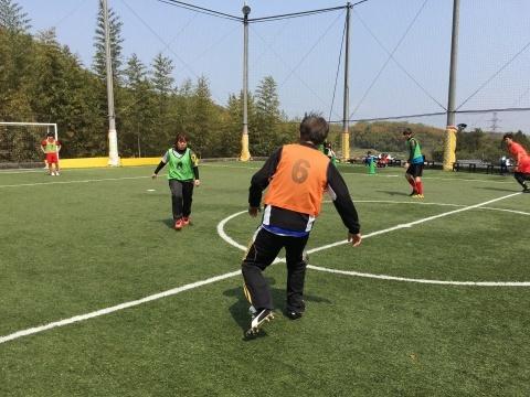 ゆるUNO 4/21(日) at UNOフットボールファーム_a0059812_18060343.jpg