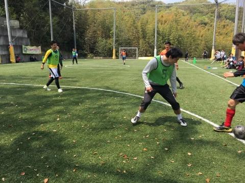 ゆるUNO 4/21(日) at UNOフットボールファーム_a0059812_18060602.jpg