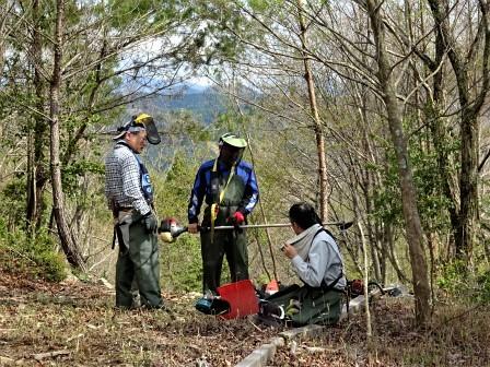 企業の森活動日記 中部ガス・ガステックサービス㈱ サーラの森_d0105723_20365111.jpg