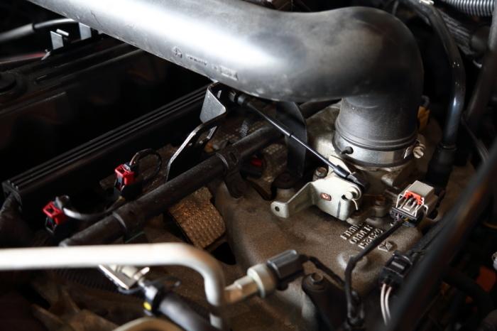 ご納車のブラックTJ 作業進行中_f0105425_18342616.jpg