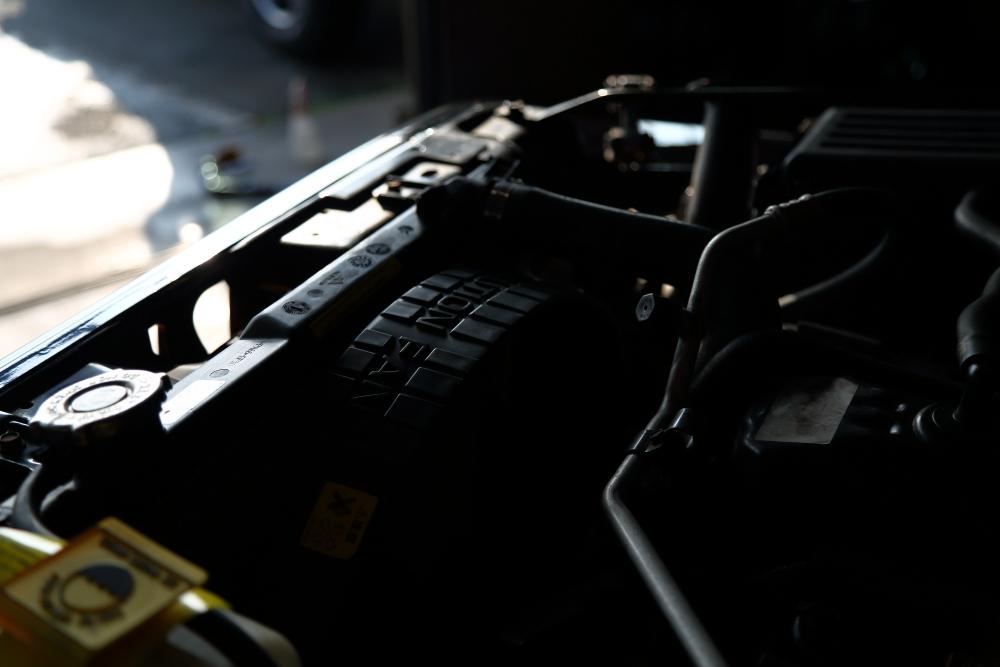 ご納車のブラックTJ 作業進行中_f0105425_18343658.jpg