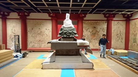 作業日誌(東京藝術大学スーパークローン文化財展作品搬入展示作業)_c0251346_14013280.jpg