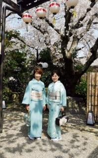 北野をどり・久子さまと多津子さま・水色のコーディネイト。_f0181251_16071787.jpg