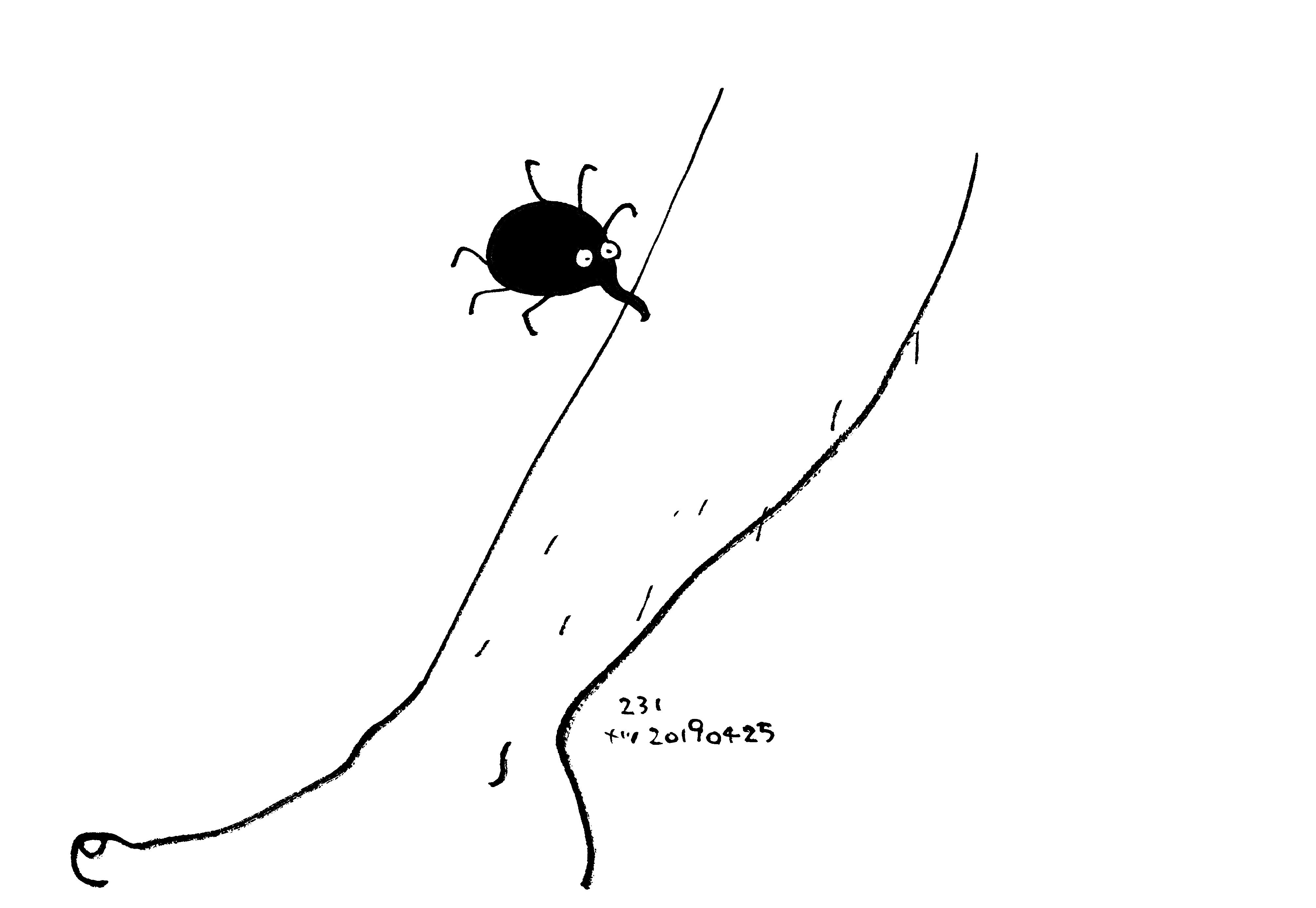 Aesop\'sFables イソップ寓話集より:231:蚤と運動選手_e0026053_16034709.jpg