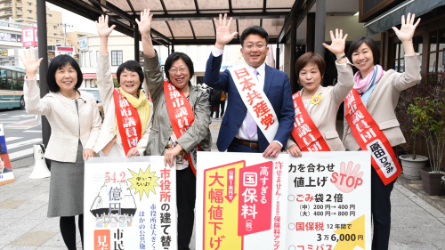 ドラマがあった清瀬・東久留米の選挙_b0190576_23045935.jpg