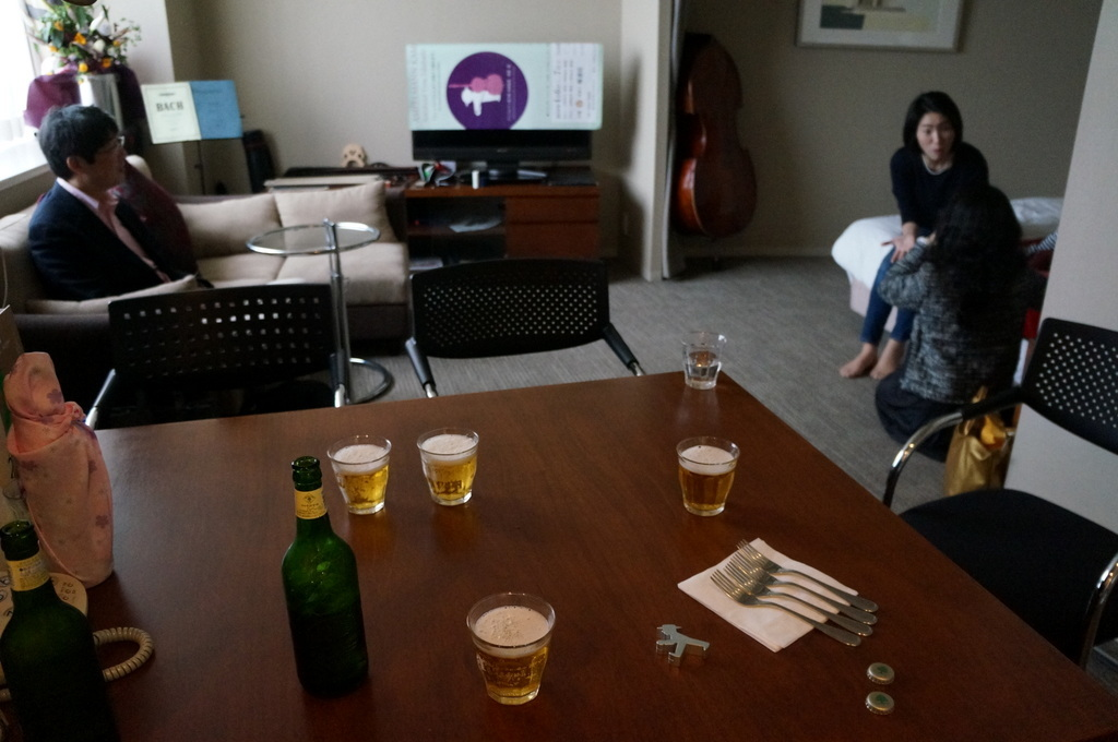 東京でも来客、今回は頻繁でした 4/14_c0180686_12310842.jpg