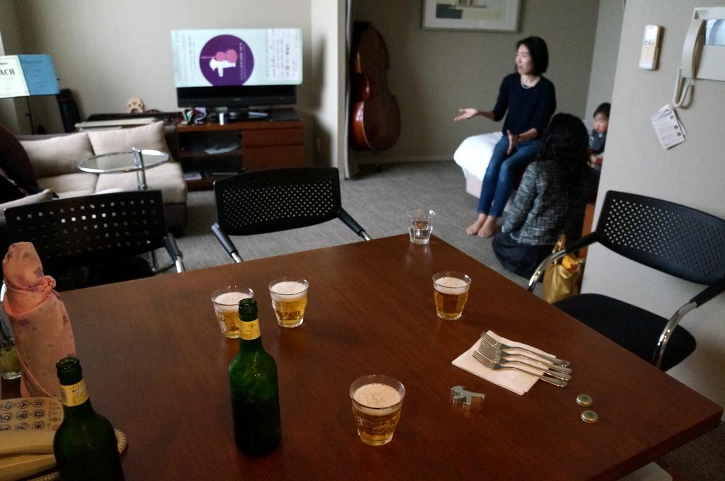 東京でも来客、今回は頻繁でした 4/14_c0180686_12311221.jpg