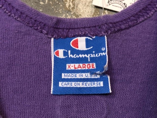 4月27日(土)マグネッツ大阪店スーペリア入荷!! #5 U.S.Old T-Shirt編! 80\'s Print & Champion、Russell!!_c0078587_15195029.jpg
