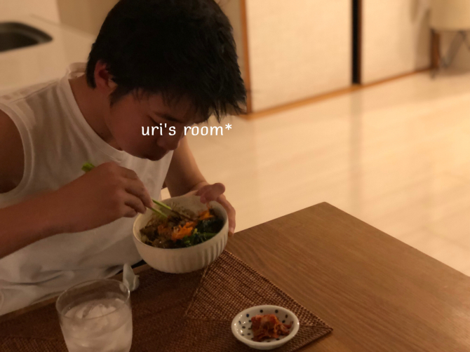 【常備食材リレー】わが家のテーブルに欠かせない食材はこちらーヽ(´▽`)/_a0341288_23303216.jpg