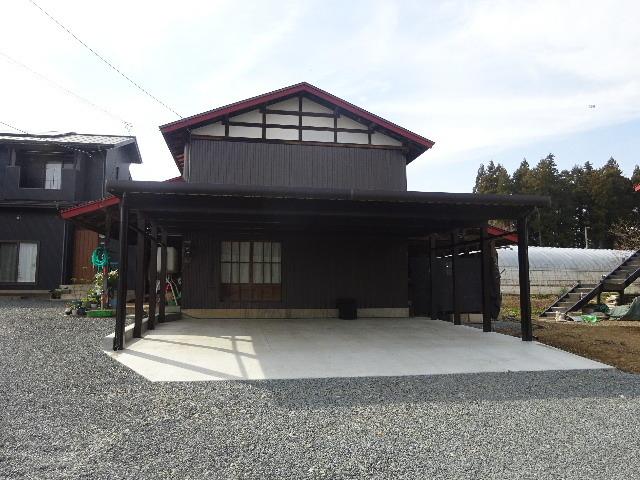 農家の納屋 屋根などの修繕工事 続き_f0105112_04152489.jpg