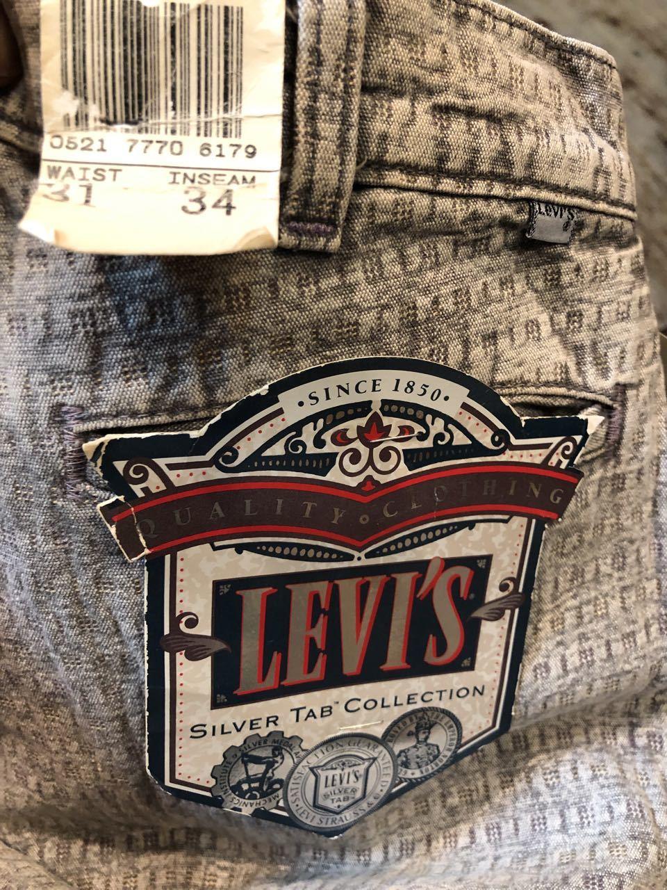 4月27日(土)入荷!デッドストック MADE IN U.S.A 80s~ Levi\'s Silver tab(リーバイスシルバータブ) JEANS!_c0144020_13283307.jpg