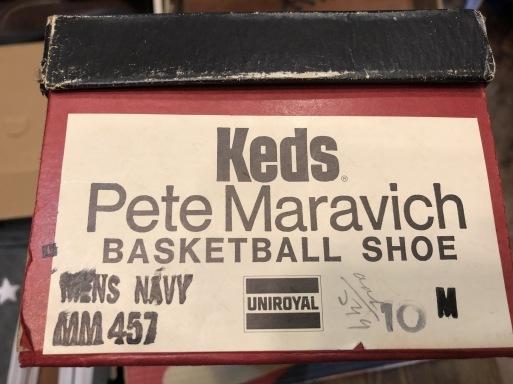 4月27日(土)入荷!デッドストック 60s~70s  KEDS  PETE MARAVIC(ピストル ピート)キャンバスシューズ!_c0144020_14522339.jpg