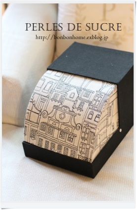 自宅レッスン ハウス型の箱 レターラック ロールアップ蓋の箱_f0199750_21205002.jpg
