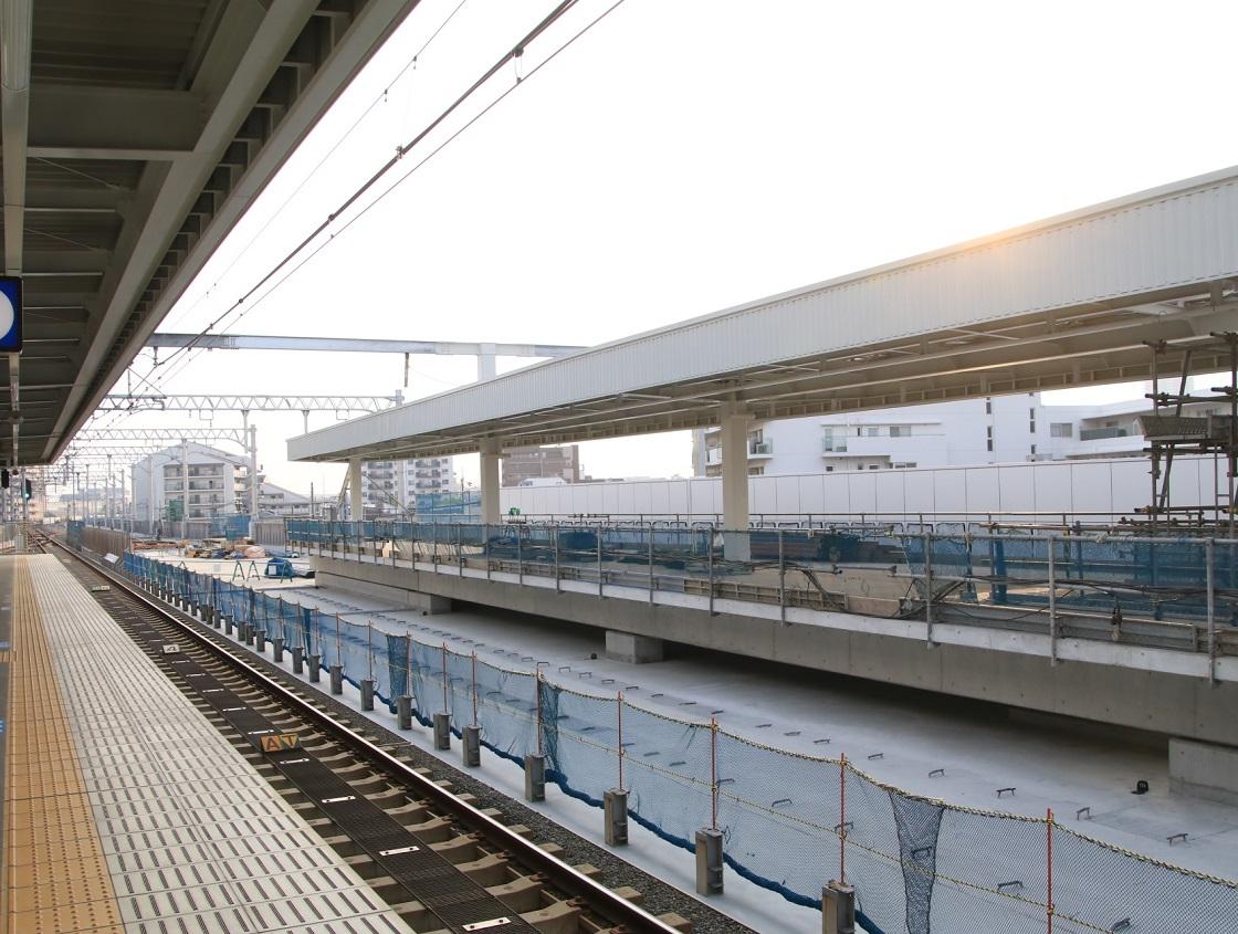 阪神青木駅にて!_d0202264_4215595.jpg