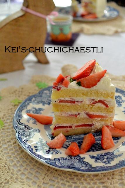 苺のショートケーキ_c0287366_163640.jpg