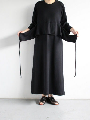 THE HINOKI 7/10スリーブ ベルテッドドレス (PRODUCTS FOR US)_b0139281_1848286.jpg
