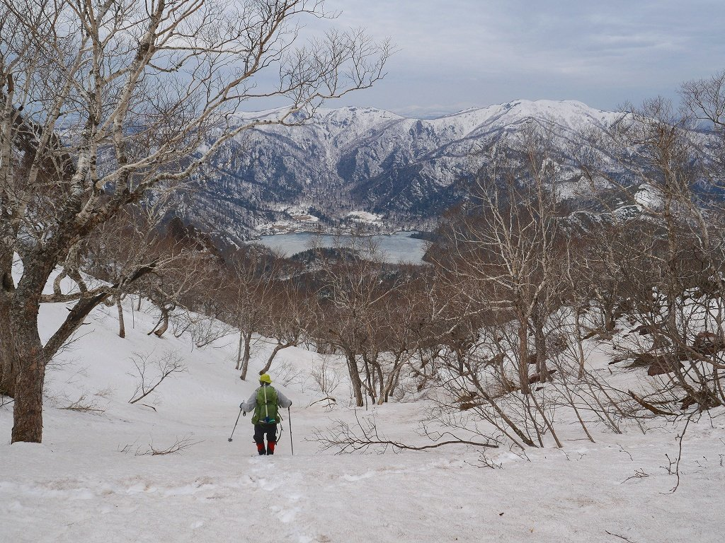 恵庭岳ジャンダルム、2019.4.23_f0138096_14102936.jpg