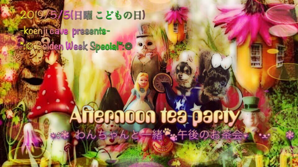 5/5 Koenji cave Afternoon tea party-わんちゃんと一緒午後のお茶会-_c0311698_14565313.jpg