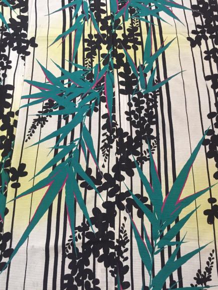 4/29より!原宿「おさんぽきもの」縞萩と笹絽着物×カラフル撫子帯♪販売商品10_c0321302_17401069.jpg
