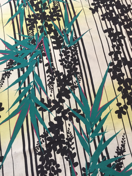 4/29より!原宿「おさんぽきもの」縞萩と笹絽着物×カラフル撫子帯♪販売商品10_c0321302_17405161.jpg
