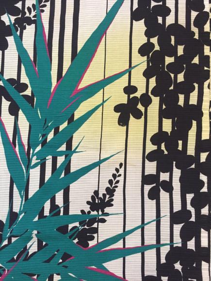 4/29より!原宿「おさんぽきもの」縞萩と笹絽着物×カラフル撫子帯♪販売商品10_c0321302_17405787.jpg