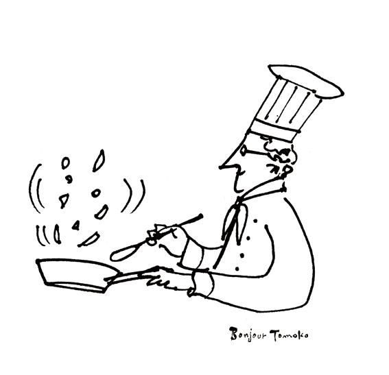 家庭画報の「レジェンド・レシピ」 イラスト_c0186612_12362571.jpg