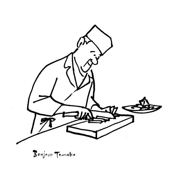 家庭画報の「レジェンド・レシピ」 イラスト_c0186612_12364650.jpg