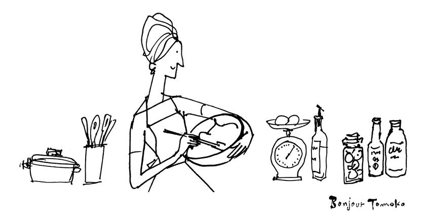 家庭画報の「レジェンド・レシピ」 イラスト_c0186612_12370848.jpg
