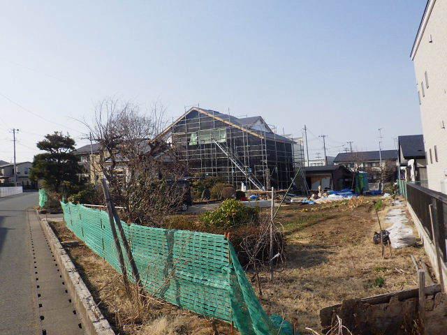 向中野の家 フルリフォーム工事 大工工事進行中!_f0105112_05011849.jpg