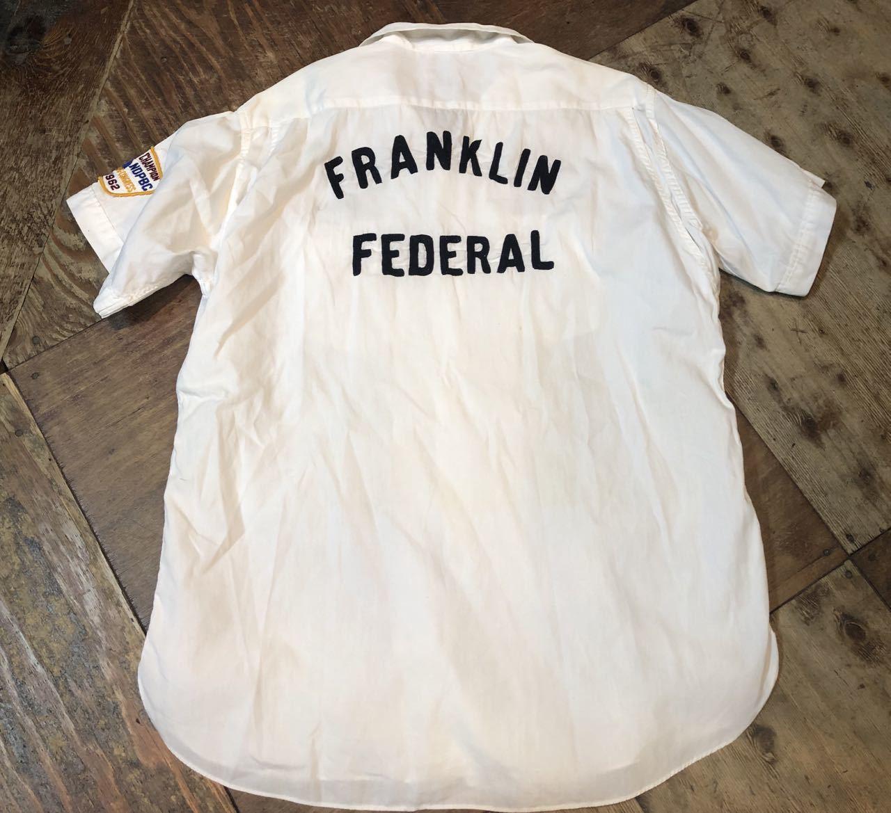 4月28日(日)入荷!マチ付 50s all cotton MARK TWAIN ボーリングシャツ! _c0144020_20083729.jpg