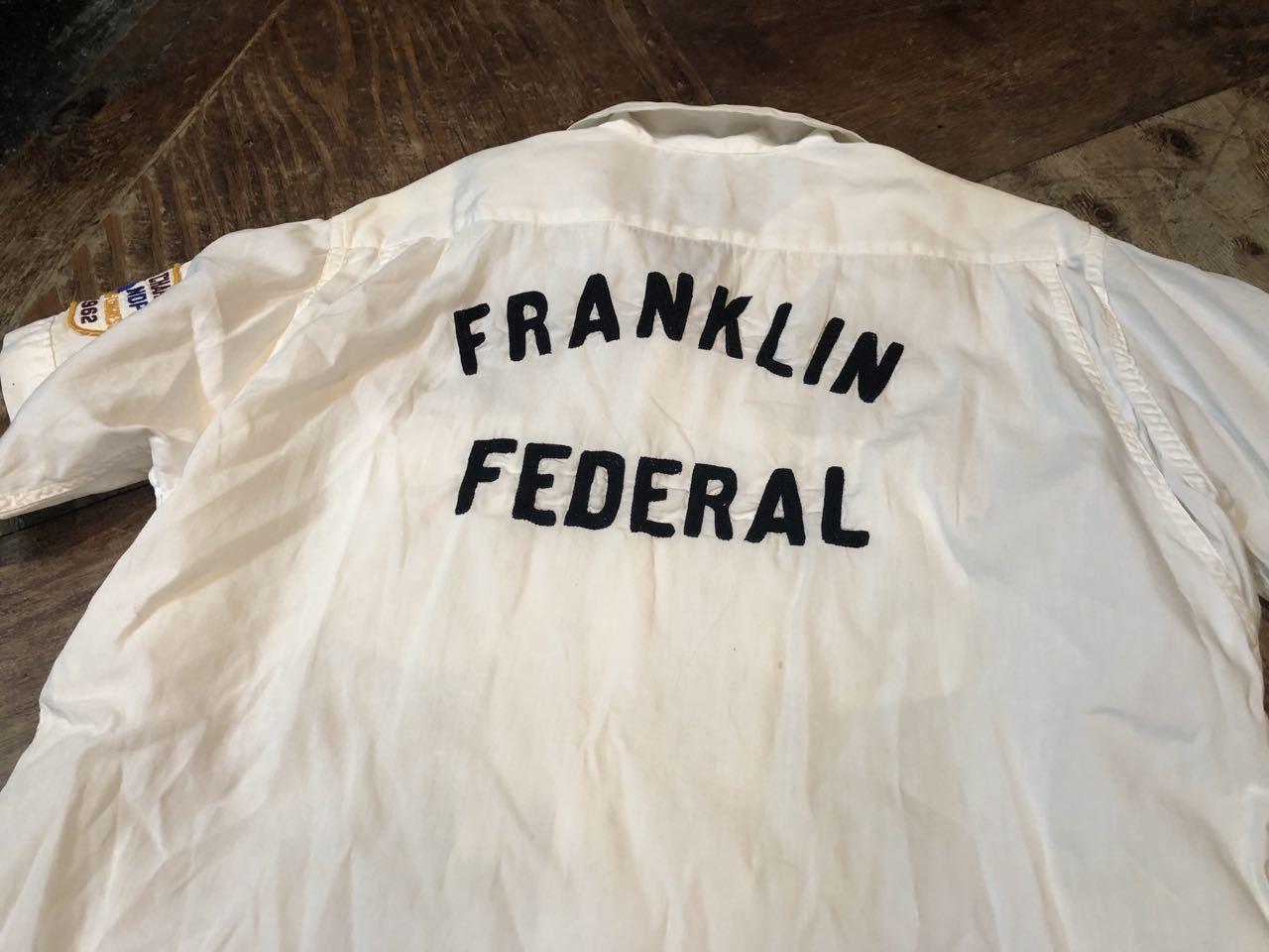4月28日(日)入荷!マチ付 50s all cotton MARK TWAIN ボーリングシャツ! _c0144020_20083951.jpg
