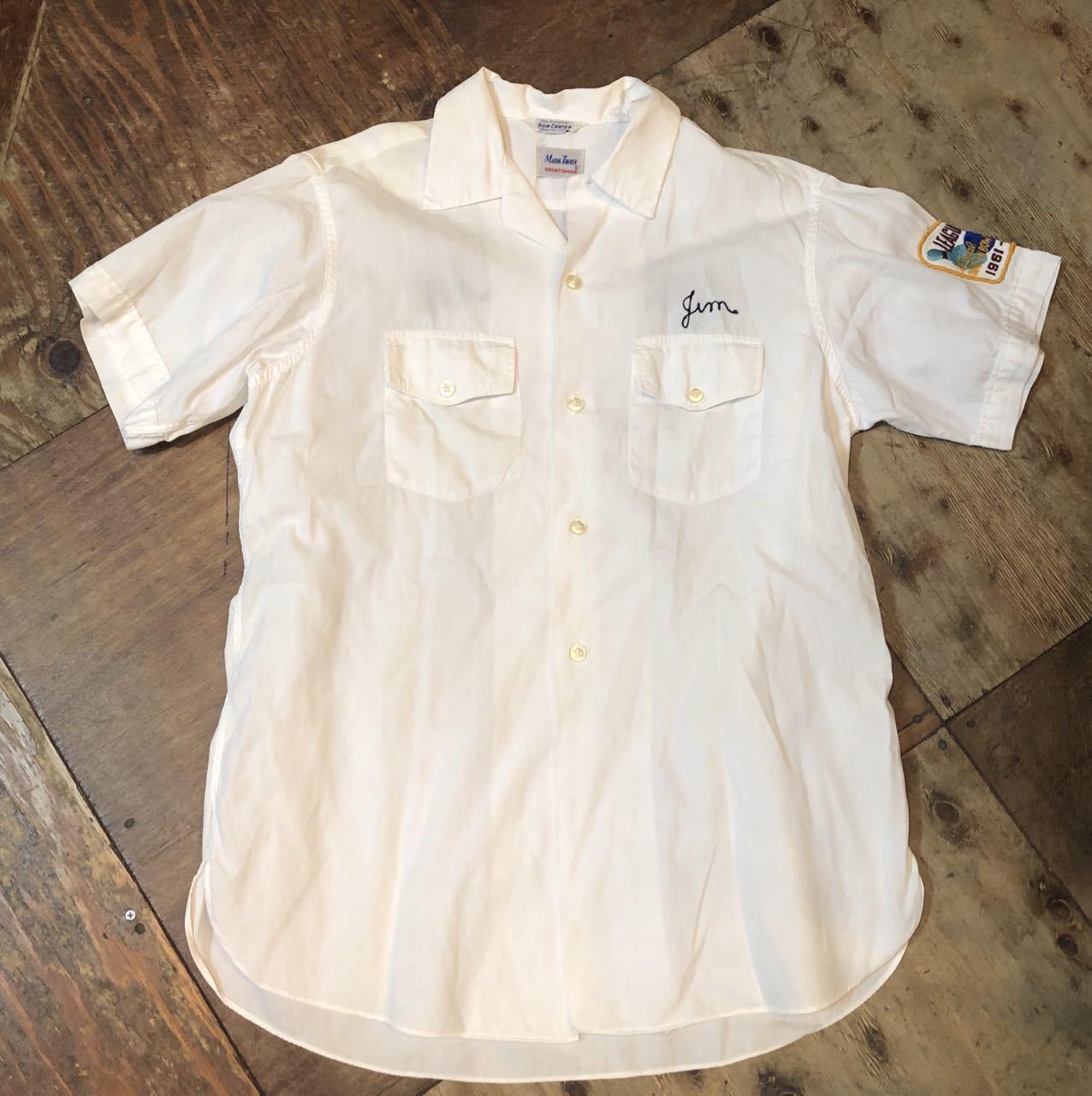 4月28日(日)入荷!マチ付 50s all cotton MARK TWAIN ボーリングシャツ! _c0144020_20084342.jpg