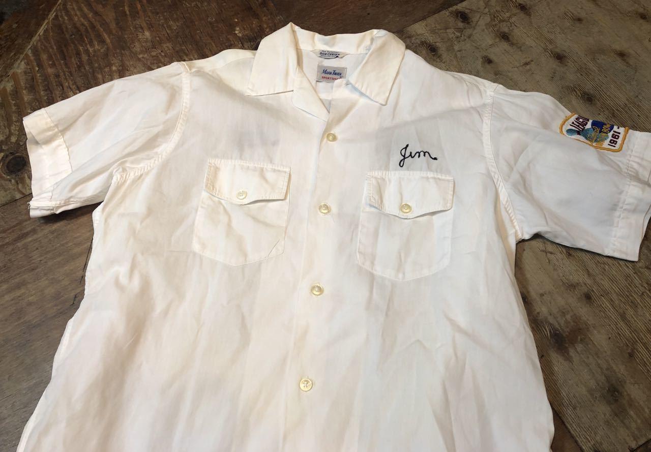 4月28日(日)入荷!マチ付 50s all cotton MARK TWAIN ボーリングシャツ! _c0144020_20084520.jpg