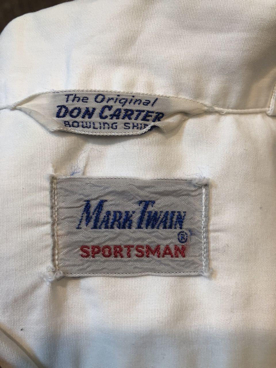 4月28日(日)入荷!マチ付 50s all cotton MARK TWAIN ボーリングシャツ! _c0144020_20084683.jpg