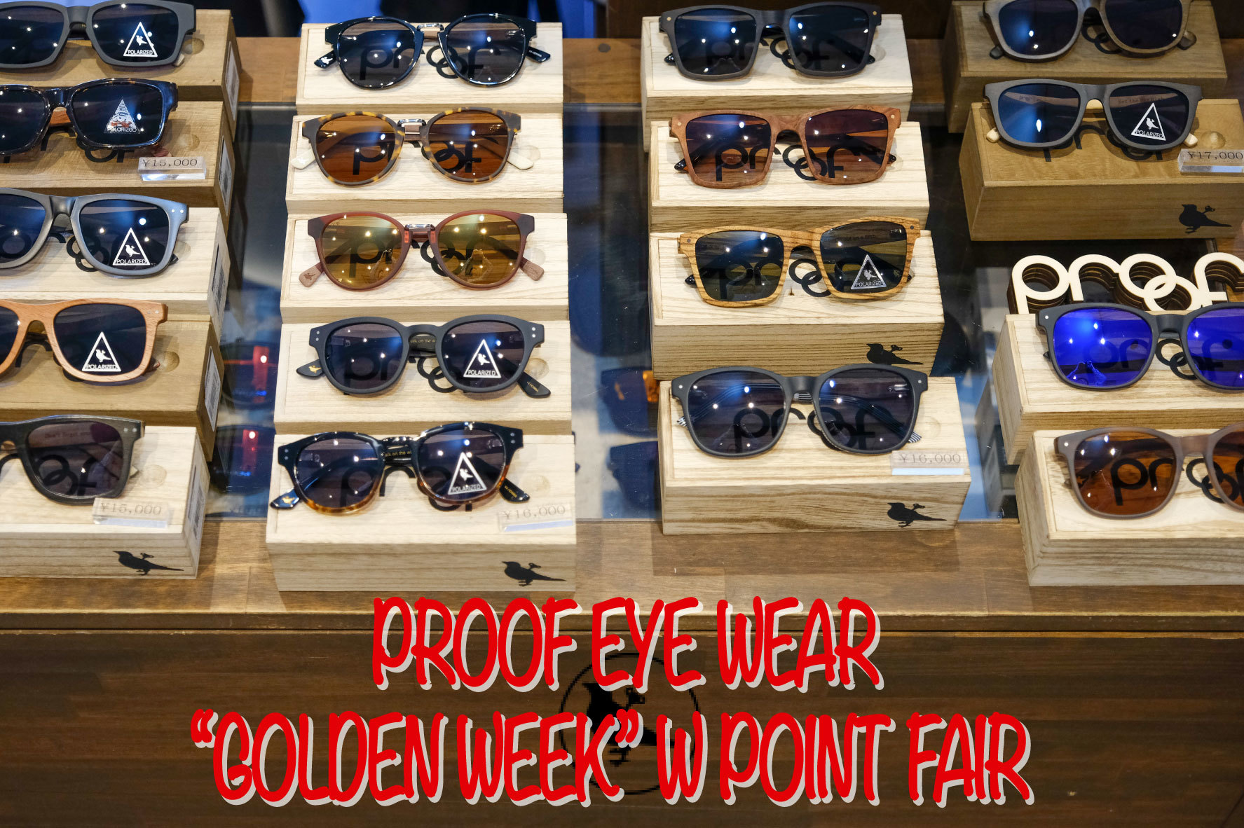W POINT FAIR~PROOF EYEWEAR~_d0126729_18021914.jpg