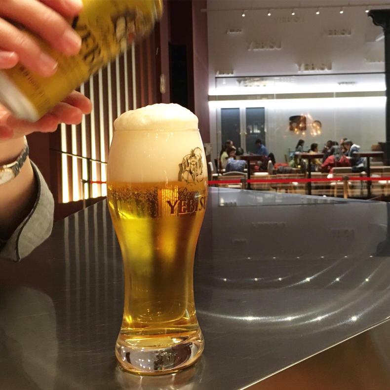 ヱビスビール記念館の試飲ツアーに参加_c0060143_09585942.jpg