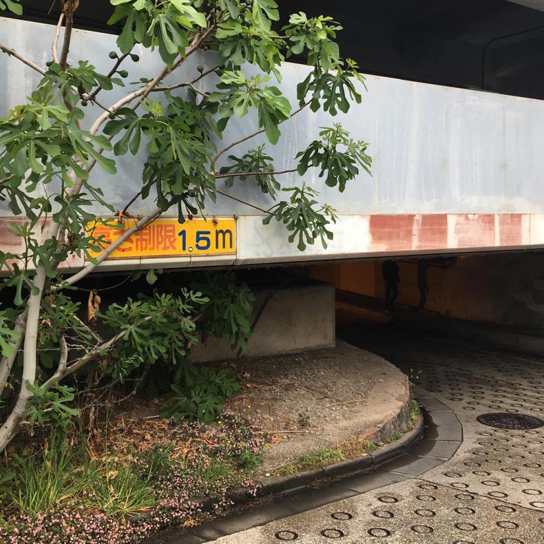 高輪橋架道橋のトンネルが「マルコビッチの穴」のよう_c0060143_10115953.jpg