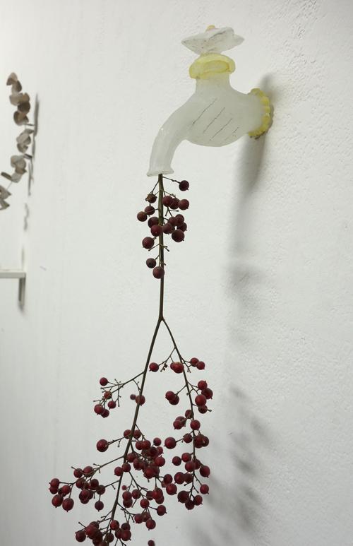 明日、4/28まで!【硝子作品展〜花の話】〜花それぞれ_a0017350_06445909.jpg