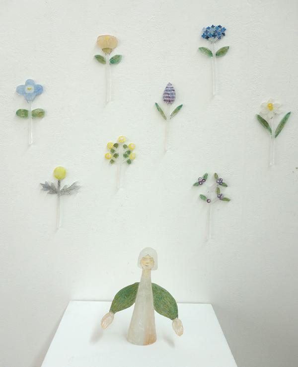 明日、4/28まで!【硝子作品展〜花の話】〜花それぞれ_a0017350_06472613.jpg