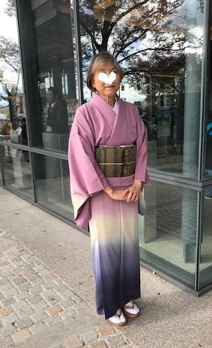 お茄子の八掛の暈しの着物のお客様・堀内周さん訃報。_f0181251_14381753.jpg