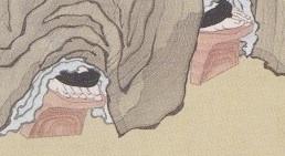北斎「𢭏衣美人図」利休はスパイだった?_b0230759_12023850.jpg