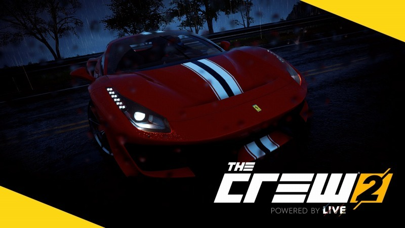 ゲーム「THE CREW2 Ferrariの暴れ馬488Pistaに乗ってみる」_b0362459_08350819.jpg