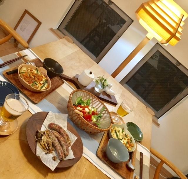 GW 春野菜とたけのこのグラタンでお家飲み♪_a0165160_22213382.jpg