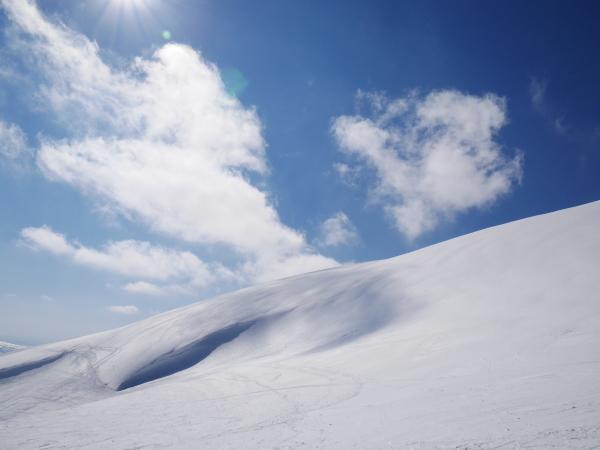 月山でスキー!_a0351368_20595064.jpg