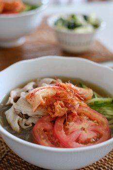 休日ごはん~韓国冷麺~_f0204175_22184016.jpg