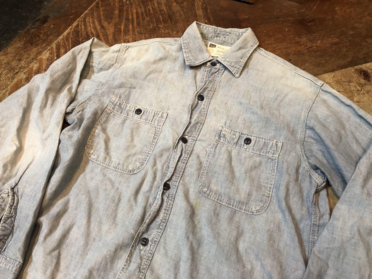 4月29日(月)60s〜all cotton SEARS シャンブレーシャツ! _c0144020_18445826.jpg