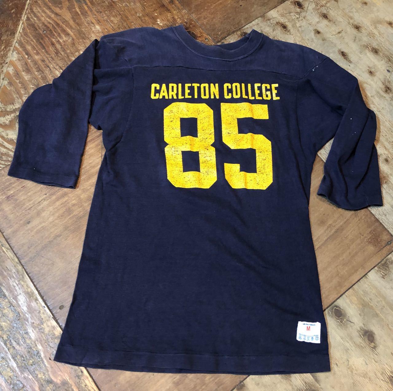 4月29日(月)入荷!80s all cotton  チャンピオン champion トリコタグ フットボールTシャツ!_c0144020_19263935.jpg